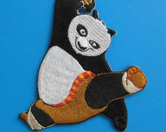 Iron-on embroidered Patch Kung Fu Panda 3.75 inch