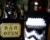 Stormtrooper Star Wars Themed Beer Coozie In Black