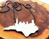 Raleigh Skyline Necklace