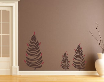 Cedar Tree - Vinyl Wall Decal