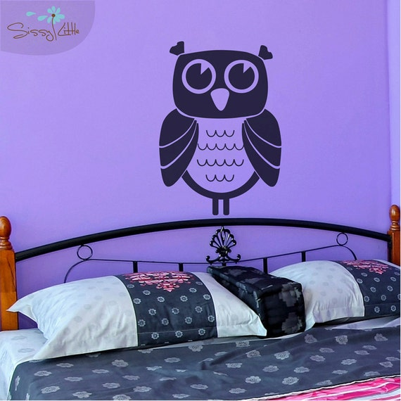 Owl Time - Vinyl Wall Decal
