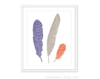 Items Similar To 3 X Ice Cream Leopard Violet Print Posters 12 X 8 Original Design New Art