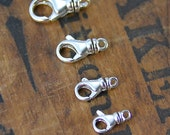 Sterling Silver Swivel Clasp Multiple Sizes Jewelry Supply Jewelry Findings