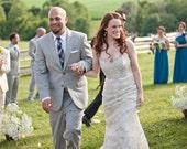 Rhinestone Bridal Earrings, Blush, Wedding, Peach, Pink