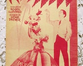 Vintage French 1950's  Song / Sheet Music - The Market Produce of Bahia (Les Maraichères de Bahia)