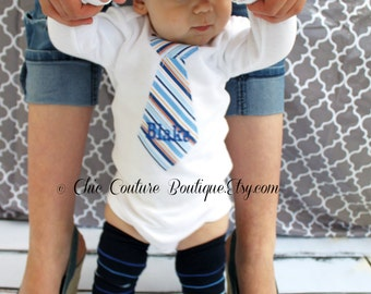 Baby Boy Personalized Tie Onesie Bodysuit & Leg Warmers SET. Photo Prop Outfit Argyle Baby's 1st Birthday Outfit. Holiday, Thanksgiving,