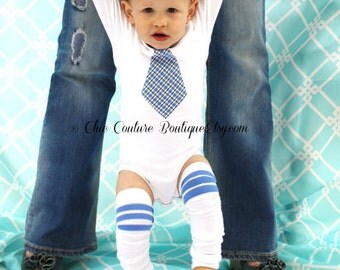 Baby Boy Classy Tie Bodysuit.  Easter Tie Outfit.  Wedding, 1st First Birthday Outfit, Cake Smash Outfit, Necktie Photo Prop