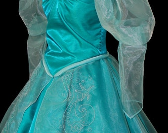 New Little Mermaid Aqua Custom Costume (Only One Left)