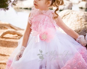 Princess Party Rosette Dress