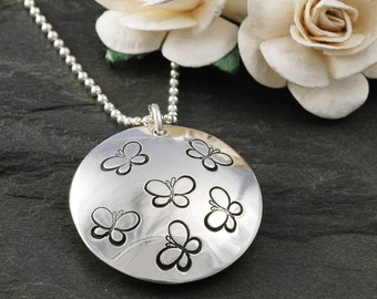 Baby Loss - Locket Style Pendant - Personalized - Forever in our hearts