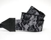Lace Camera Strap slr - Black Lace