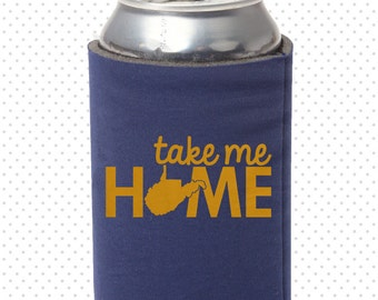 Take Me Home, Country Roads | West Virginia: Made-to-Order Beer/Soda Can Cooler