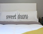 Sweet Dreams Pillow Couples Pillow His Hers Pillow Case