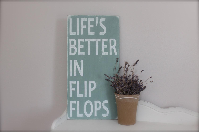 Flip Flop Bathroom Decor Flip Flop Decor Etsy