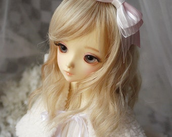 Ribbon Bow Knot Hair Band for BJD SD and MSD/YoSD Dolls 4 Colors Available (Type 8)