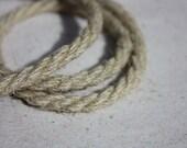 6 mm Linen Rope - 1 Spool = 22 Yards = 20 Meters of Natural Linen