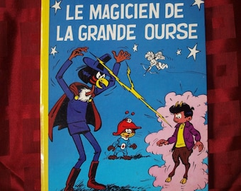 Le Magicien De La Grande Ourse Khena Et Le Scrameustache Dupuis 1974 No 2 Francois Gos French Children Tweens Adventure Magic Flying Saucer