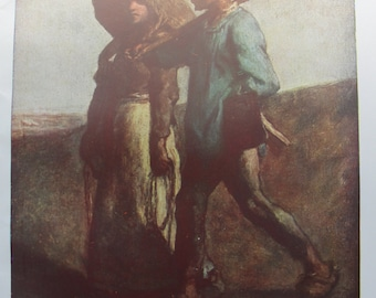 Going to Work by Jean Francois Millet