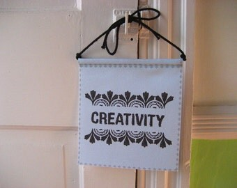 Modern Prayer Flag, Creativity, Create, Inspire