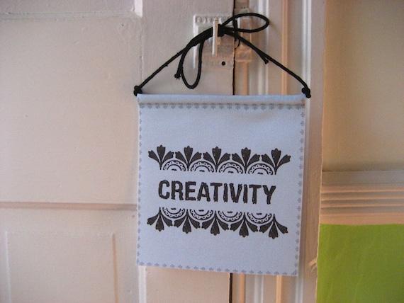 Modern Prayer Flag, Creativity, Create, Inspire
