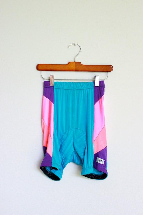 Spandex Shorts 80s Biking Bike Bicycle Sub 4 Small Mens Unisex Womens