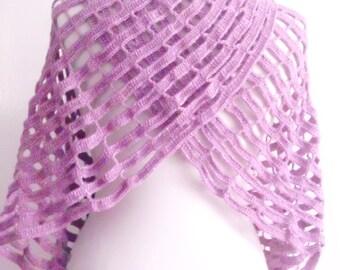 SHAWL CROCHET handmade gift scarves shawl collar spring bride