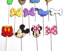 Mickey Mouse Clubhouse 12 Themed Cupcake Toppers Party Birthday Decoration