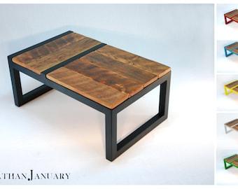 Domino Coffee Table -- Modern Barnwood