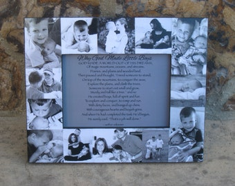 Baby Photo Collage Frame Baby's First Year Frame