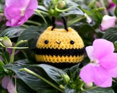 Bumblebee Chuppy - Stuffed Animal - Crochet Amigurumi