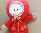 PATTERN : Kenny Crochet Doll