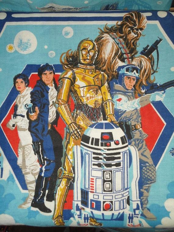 Vintage 1970 S Star Wars Curtain Drape Panels Empire