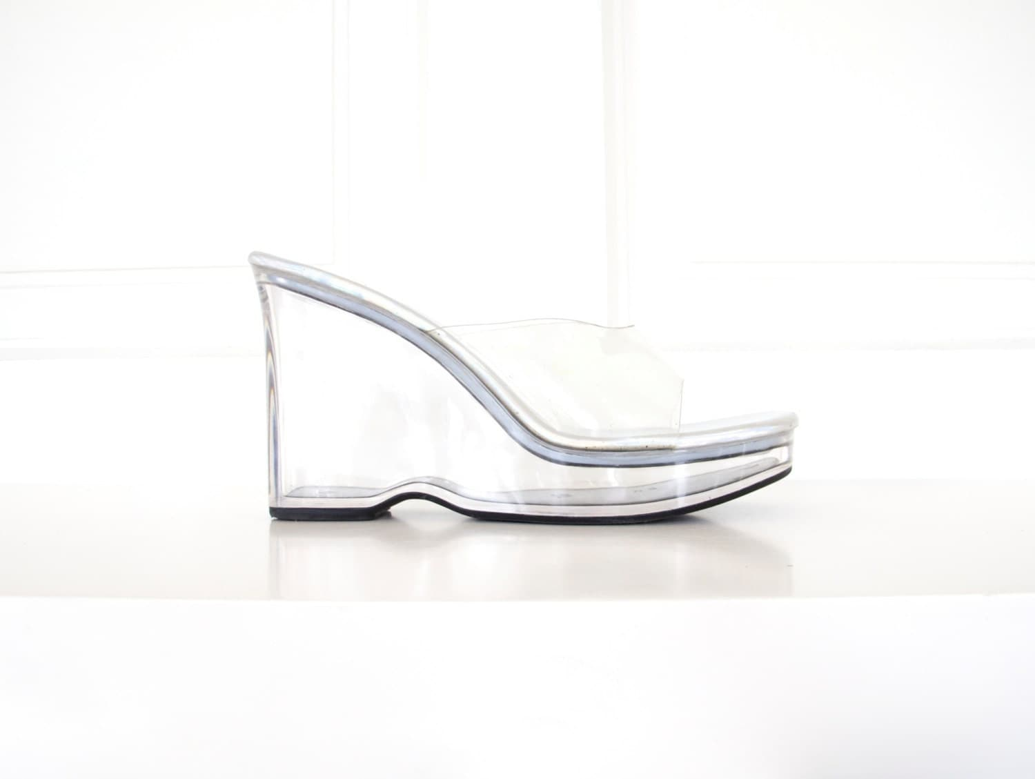 Women S Acrylic Platform Shoes