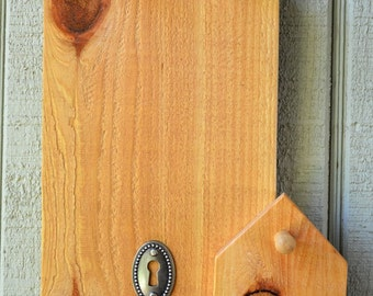 Popular items for wood key holder on Etsy