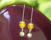 Om Tibetan bells and resin beads