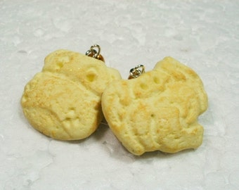Animal Cookie Earrings. Polymer Clay.