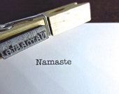 Namaste Stamp - Sentiment Stamp