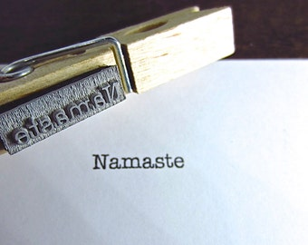 Namaste Stamp - Sentiment Stamp