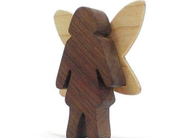 Wood Fairy Toy, Natural Wood Toy, Kids Toys, Kids Wooden Toy, Wooden Toy For Girls, Gift For Girls, Nature Toy, Magical Toy