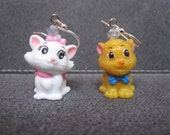 Disney's Aristocats Marie & Toulouse Earrings