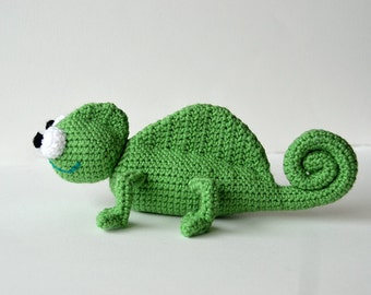 Chameleon Crochet Pattern, Amigurumi Chameleon Pattern, Chameleon Amigurumi Pattern, Amigurumi Crochet Pattern, Animal Crochet Pattern, Zoo