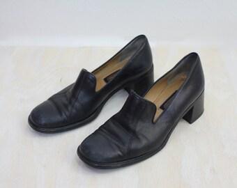 Vintage Coach Italian Leather Loafers Sz 7.5B