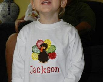 Personalized Turkey Shirt or Bodysuit