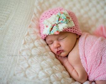 baby, hat, baby hat, girls, baby girls, baby girl hat, hospital hat, newborn, newborn hat, newborn girl, newborn girls hat, girls hospital