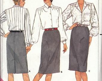 Classic Skirt Pattern Butterick 3471 Size 12 Uncut