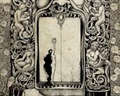 Bluebeard's Secret Door Art Print