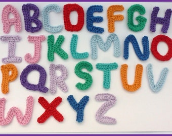 applique letters crochet appliques 1 alphabet letter cardmaking scrapbooking appliques craft embellishments sewing accessories