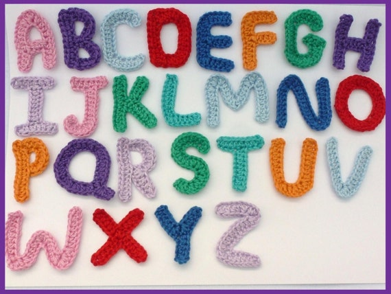 26 Crochet Letter Patterns The Funky Stitch