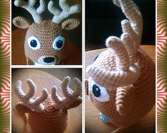 Popular items for deer crochet hat on Etsy