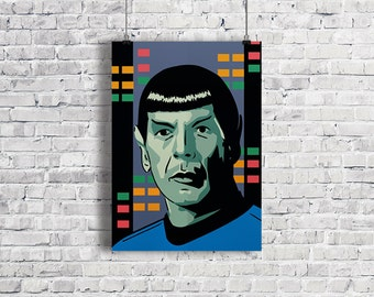 MR SPOCK Star Trek Illustration